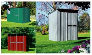 Skillion Roof Garden Sheds