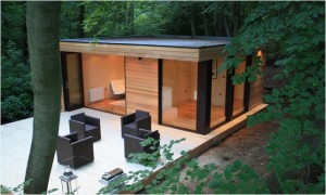 Garden rooms don't have to be shed-like.