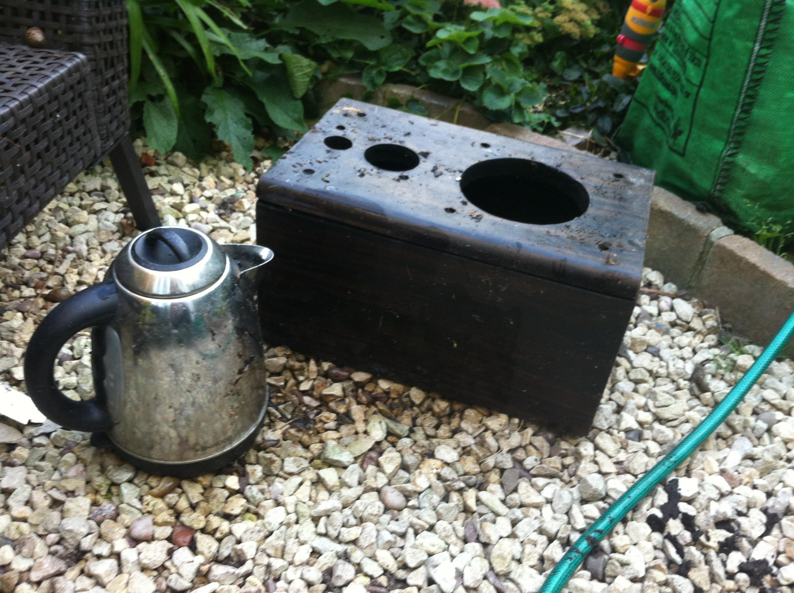 empty kettle